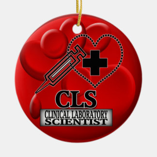 BLOOD ORNAMENT CLS  CLINICAL LABORATORY SCIENTIST