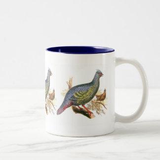 Blood Pheasant Two-Tone Coffee Mug