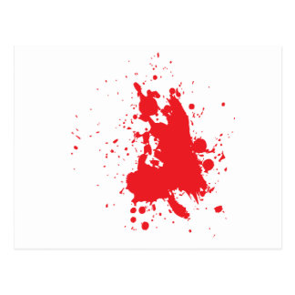 blood postcard