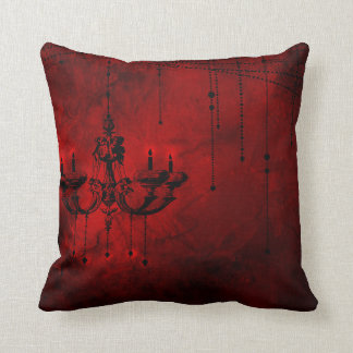 Dark Red Decorative Pillow : Blood Red Pillows - Decorative & Throw Pillows Zazzle