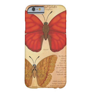 Blood Red Glider Butterfly Barely There iPhone 6 Case