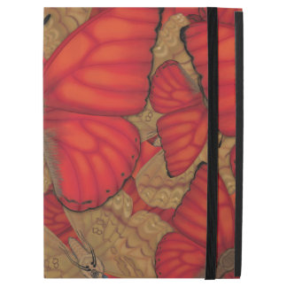 "Blood Red Glider Butterfly iPad Pro 12.9"" Case"