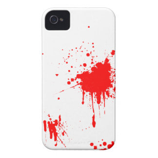 Blood/Red Paint Splatter iPhone 4S iPhone 4 Cover