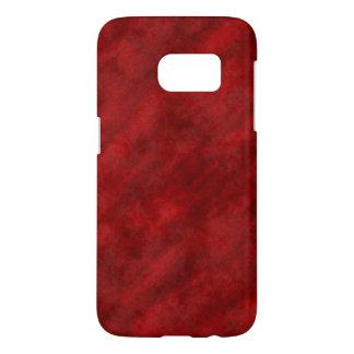 Blood Red Rough Velvet Phone Case