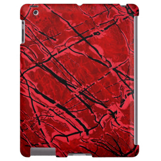 BLOOD RED ROYALE (an abstract art design) ~