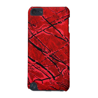BLOOD RED ROYALE (an abstract art design) ~ iPod Touch (5th Generation) Case