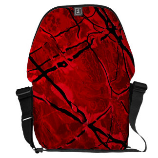 BLOOD RED ROYALE ~ COURIER BAG