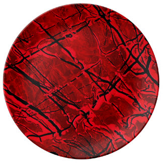 BLOOD RED ROYALE ~ PLATE