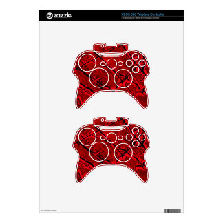 BLOOD RED ROYALE ~ XBOX 360 CONTROLLER SKIN
