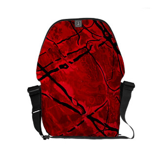 BLOOD RED ROYALE ~ SMALL MESSENGER BAG