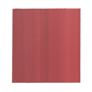 Blood RED Shades Stripes Note Pads