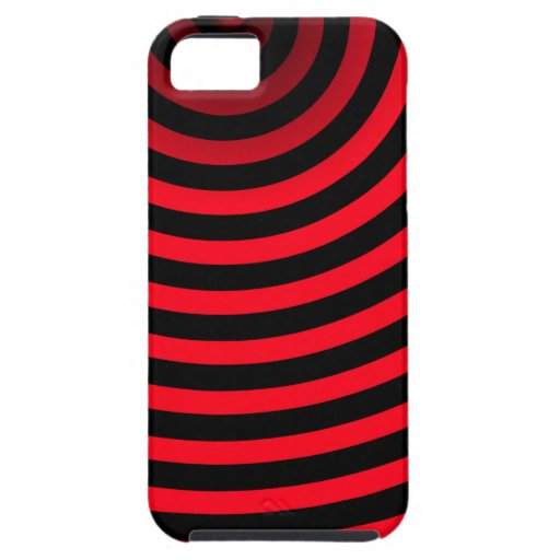 blood red stripes iPhone 5 case