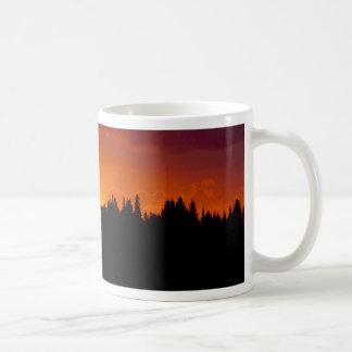 Blood Red Sunset (Customizable) Mugs