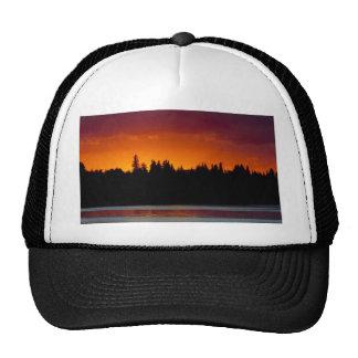 Blood Red Sunset (Customizable) Trucker Hat