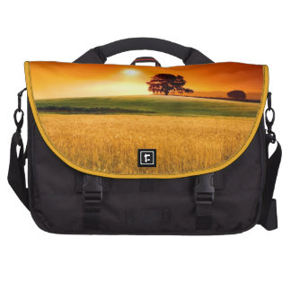 Blood-Red Sunset Laptop Bags