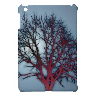 Blood Red Tree In Night Sky iPad Mini Cover