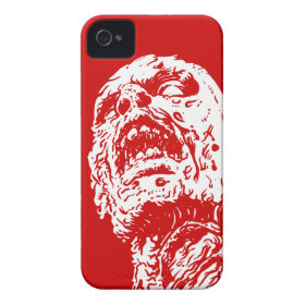 Blood Red Zombie iPhone 4 4s Case Sleeve iPhone 4 Covers