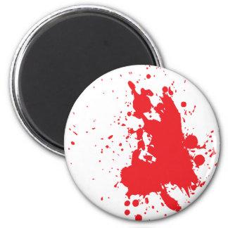 blood refrigerator magnet
