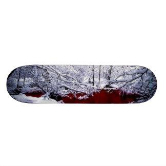 Blood River Winter Skateboard