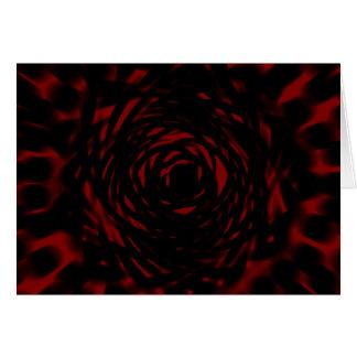 Blood Rose Card