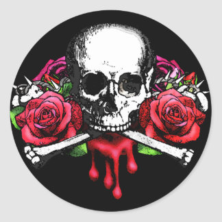 Blood Rose Stickers