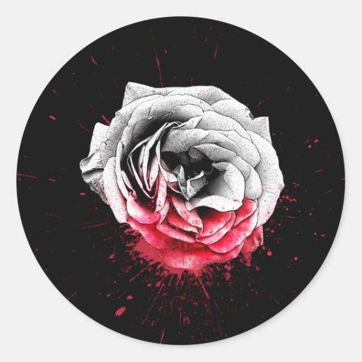 Blood Rose - Sticker