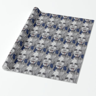Blood Roses Vampire Art Wrapping Paper