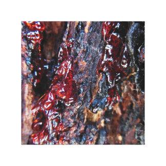 Blood Sap Canvas Prints
