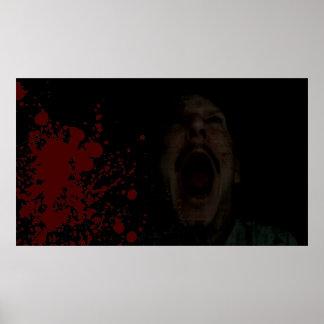 Blood Scream Poster