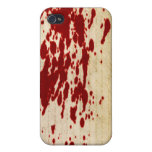 Blood Scroll Fitted Hard Case for Apple iPhone 4 iPhone 4 Case
