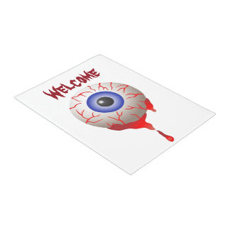 Blood Shot Eye Doormat