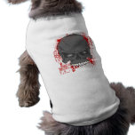 Blood Skull Dog Shirt