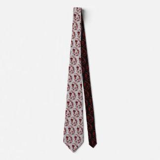 Blood Skull Neck Tie