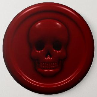 Blood Skull Pinback Button