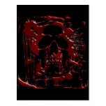 Blood Skull Postcards