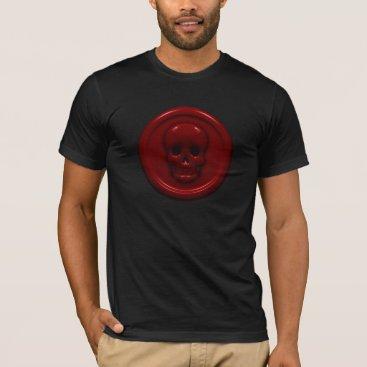 Halloween Themed Blood Skull T-Shirt