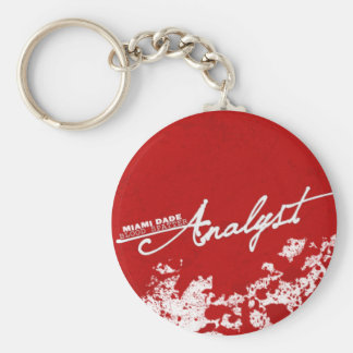 Blood Spatter Analyst Keychain