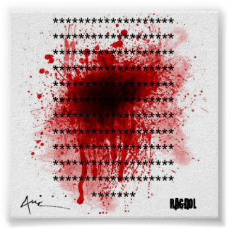 blood spatter, auc tag copy, ******************... poster