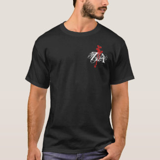 Blood Spatter Initial Logo Shirt