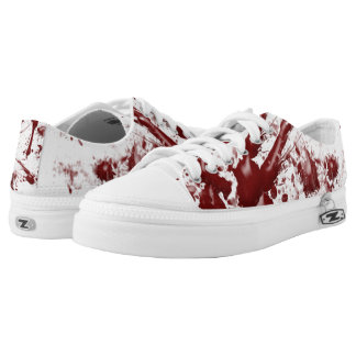 BLOOD SPATTER Low-Top SNEAKERS