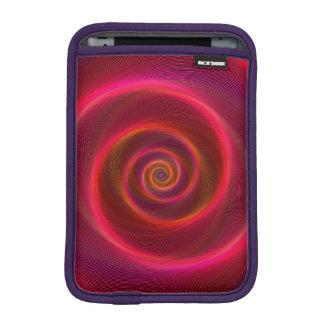 Blood spiral iPad mini sleeve