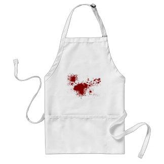Blood Splash Adult Apron