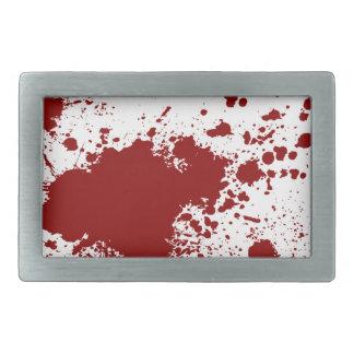Blood Splash Belt Buckle