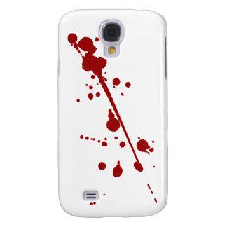 Blood Splat strike 2 over iphone Samsung Galaxy S4 Case