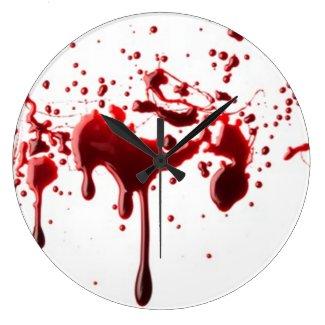 Blood Spatter Clock