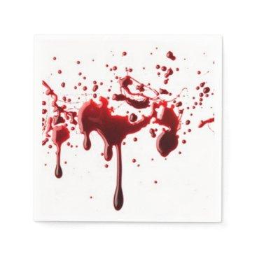 Halloween Themed blood splatter 3.png napkin