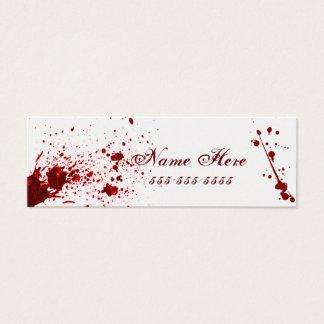 Blood Splatter Business Card V2
