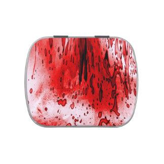 Blood Splatter Candy Tin