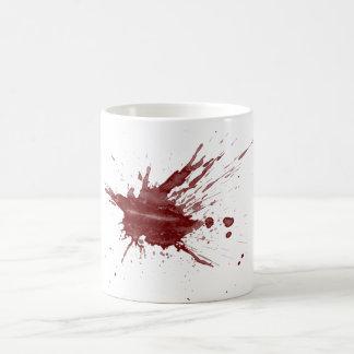 """Blood Splatter"" Classic White Coffee Mug"