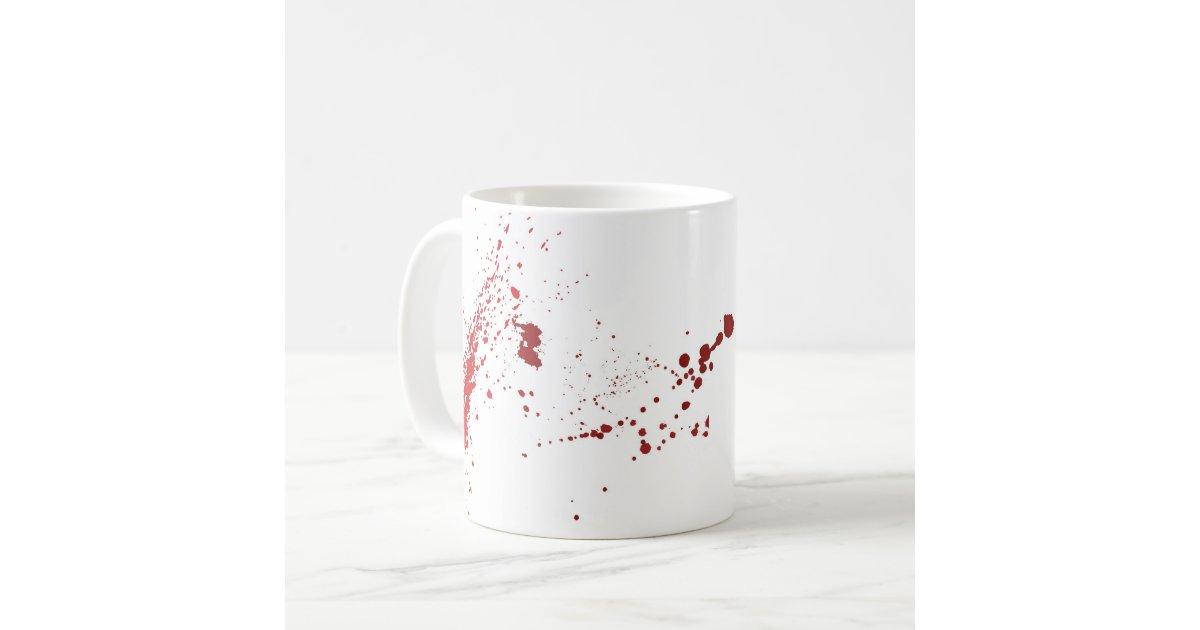 blood splatter coffee mugs - photo #19